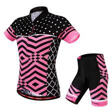 Casual Womens Cycling Jerseys Shirts Shorts Kits Racing Shirts Pants Sets L