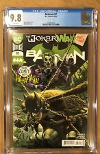 BATMAN # 97 CGC 9.8! JOKER WAR PART THREE. (10/20).