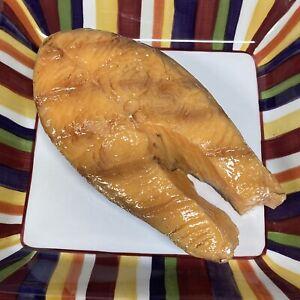 Fake Food Replica Fish Seafood Grilled SALMON STEAK Restaurant Display PROP SFSS