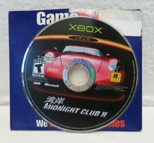 Midnight Club 2 (Microsoft Xbox, 2003) DISC ONLY