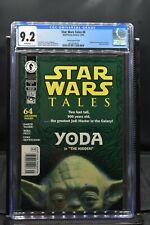 Star Wars Tales #6 Yoda Photo Newsstand Variant CGC 9.2 Dark Horse 2000 RARE HTF