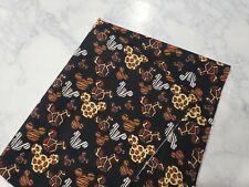 Mickey Mouse Animal Print Fat Quarter 100% Cotton Fabric