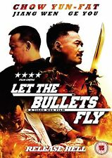 Let The Bullets Fly 2012 Chow Yun Fat, Feng Xiaogang NEW AND SEALED UK R2 DVD