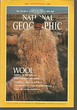 National Geographic May 1988 Wool/Persian Gulf/Fleas/Supernova/Kerala