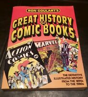 Ron Goularts 1986 Great History of Comic Books from 1890's - 1980's Marvel DC
