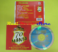 CD '70 MANIA compilation CUGINI DI CAMPAGNA SORRENTI FORMULA 3 (C9) no lp mc dvd