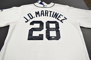 J.D Martinez Detroit Tigers Signed Jersey MLB authentication