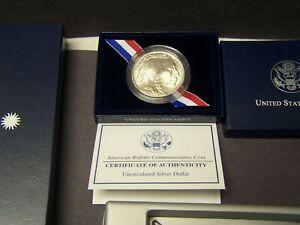 2001-D American Buffalo Commemorative Dollar Coin Uncirculated 90% Silver Dollar
