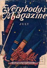 1905 Everybody's July - Frenzied Finance part II; Making a Yale Athlete; Marlowe