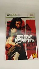Red Dead Redemption English microsoft XBox 360 Manual ONLY NO GAME FREE P&P UK