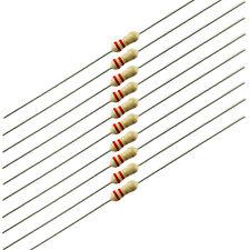 291-6.2-RC 100 Piece Lot 6.2 Ohm 1//4 Watt 5/% Carbon Film Resistor