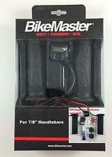 "BikeMaster Heated Grips LCD Display Fits 7/8"" Handlebars Aprillia Buell Ducati"