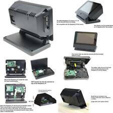 Smartipi Touch Pro Case For The Raspberry Pi Official 7 Display Large Black