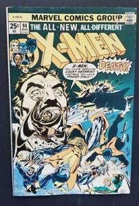 X-MEN #94 • 2ND NEW TEAM • FINE/VERY FINE OR BETTER+++ • WOLVERINE