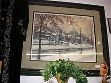 Summit Avenue II by Susan Amidon 2000 Signed Print #91 of 150 Gorgeously framed