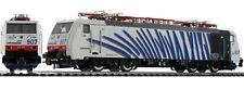 "Roco 73317 189 907 Lokomotion / I-Rtc Design""Zebra"" White Headbands Blue Sound"