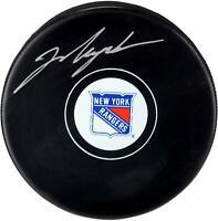 Mark Messier New York Rangers Autographed Hockey Puck - Fanatics