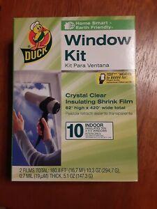 Duck Indoor 10-window Shrink Film Insulator Kit 62-inch X 420-inch