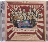 La Sonora Santanera CD + DVD En Su 60 Aniversario 889853155422 - SHIPS NOW!