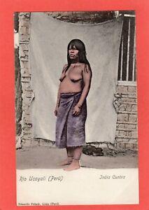 Rio Ucayali Peru India Cuniva Ethnic Indian Peru pc unused Ref U726