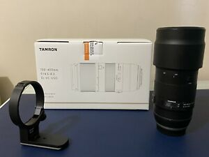 New Tamron 100-400mm f/4.5-6.3 Di VC USD Lens for Canon EF