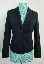 Ann Taylor Factory Black Blazer Jacket 2 Button Women's Size 6 NEW