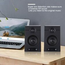 Computer Speakers Heavy Bass HiFi Sound Subwoofer Portable For Desktop PC Laptop