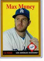 Max Muncy 2019 Topps Archives 5x7 Gold #33 /10 Dodgers