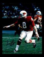 Larry Wilson HOF 78 Hand Signed 8x10 Photo Autograph St Louis Cardinals