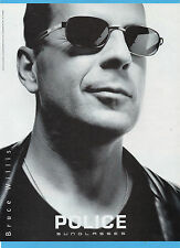 CIAK999-PUBBLICITA'/ADVERTISING-1999- POLICE SUNGLASSES+BRUCE WILLIS (vers.A)