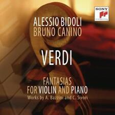 Bidoli,Alessio - Giuseppe Verdi: Fantasia - Transcriptions by Camillo Sivori