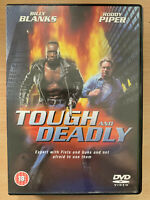 """Tough and Deadly DVD 1995 Action Movie w/ Billy Blanksand  """"Rowdy"""" Roddy Piper"""