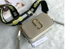 BNWT Marc Jacobs Logo Strap Snapshot Small Camera 088 Dust Multi Cross Body Bag