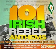 101 Irish Rebel Anthems (101 Songs Of Irish Rebellion) 5 CD Box Set 1916/2016