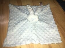 Soft Touch Blue Bunny Rabbit Soft Toy Comforter. J16