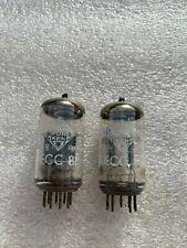 Telefunken ECC81 12AT7 <> Low Noise Tubes Matching Pair Test NOS
