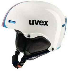 uvex hlmt 5 race white/blue Skihelm Snowboard Wintersport Helm Rennskihelm 16/17