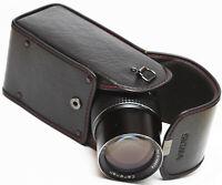 "Sigma NC-5 Hard Lens Case 6"" For Canon Nikon Pentax Zoom Telephoto Lenses"