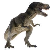 17cm Realistic Tyrannosaurus Dinosaur Model Figurine Toy Collectibles Green