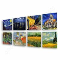 Starry Night Rhone Cafe Irises by Vincent Van Gogh | Canvas (Rolled) | Wall art