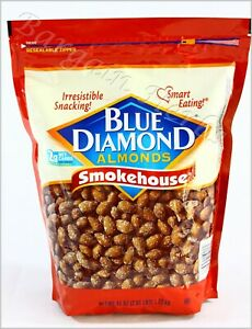 Blue Diamond Almonds Smokehouse 45 Oz New Free Shipping Best Before 08/2022