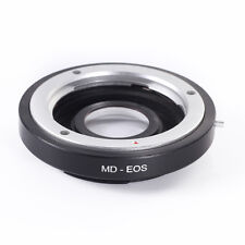 Minolta MD MC Lens to Canon EOS Body Adapter Ring w/Glass f Canon 7D 5D 60D 600D