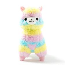 Alpacasso Arpakasso Amuse Rainbow Striped Llama Alpaca Stuffed Plush Doll 6.7''