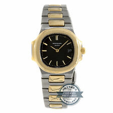 Patek Philippe Nautilus 4700/11 Quartz Steel Yellow Gold Ladies Bracelet Watch