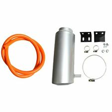Silver 800ml Universal Radiator Coolant Aluminum Catch Tank Overflow Reservoir