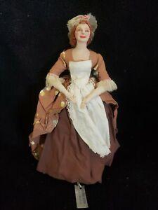 1940's Bernard Ravca Sculpted Mrs. John Abigail Adams Presidential Wife Doll