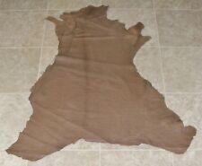 (Zwe9275) Hide of Light Brown Reptile Print Lambskin Leather Hide Skin