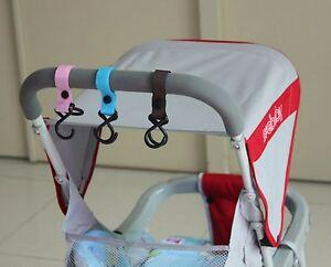 AU Seller 2 pcs One-pair pram stroller hooks hangers  brand new