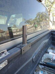 Truck Bed / Building/ HOUSE/  single Base mount, Flag Pole Holder
