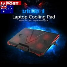 """For 12""""13""""14""""15""""17""""Fashion Laptop Cooling Pad with 5 Fans Desktop Stand Cooler"""